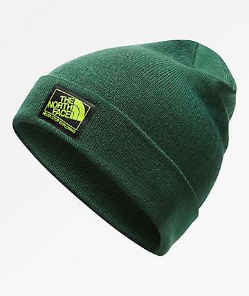 The North Face Doc Worker Botanical Green Beanie