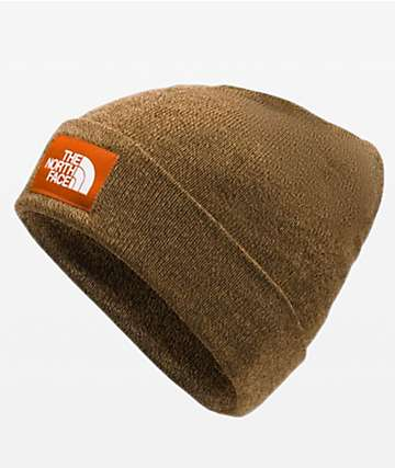 The North Face Doc Worker Cedar Brown Beanie