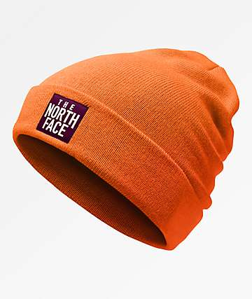 The North Face Doc Worker Persian Orange Beanie
