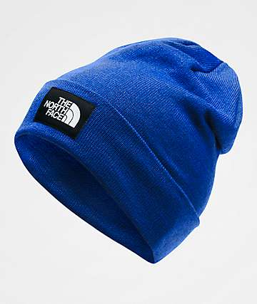 The North Face Dock Worker Blue Beanie