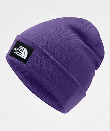 The North Face Dock Worker Hero Purple Beanie
