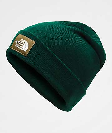 The North Face Dock Worker Night Green Beanie