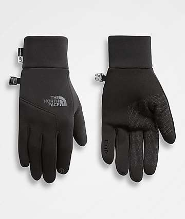 The North Face Etip Black Snowboard Gloves