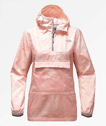 The North Face Fanorak Evening Sand Anorak Windbreaker Jacket