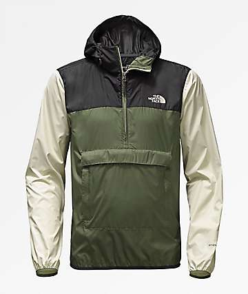 The North Face Fanorak Four Leaf Clover Anorak Windbreaker Jacket