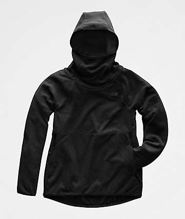 The North Face Glacier Alpine Weathered Black Hoodie