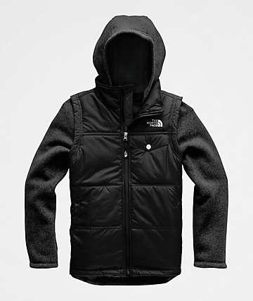 The North Face Gordon Lyons Black Vest Jacket