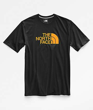 The North Face Half Dome Black & Gold T-Shirt