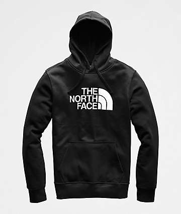 The North Face Half Dome Black Heather Hoodie