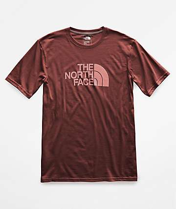 The North Face Half Dome Burgundy T-Shirt
