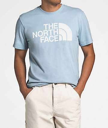 The North Face Half Dome Faded Blue T-Shirt
