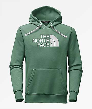 The North Face Half Dome Green Hoodie