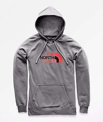 The North Face Half Dome Grey Hoodie