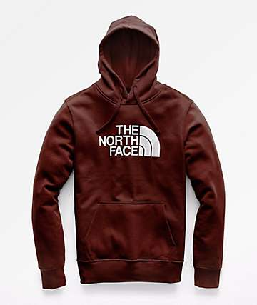 The North Face Half Dome Sequoia Red Hoodie