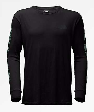 The North Face Have You Herd Black Long Sleeve T-Shirt