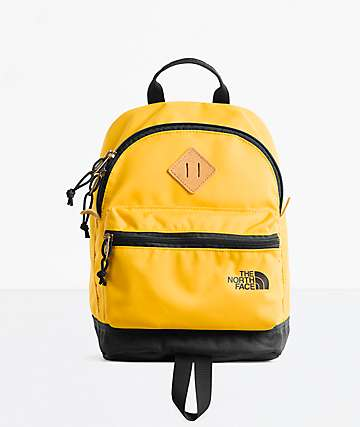 The North Face Mini Mini Berkeley Black & Yellow Mini Backpack