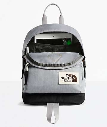 The North Face Mini Mini Berkeley Grey Mini Backback