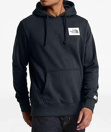 The North Face Patch Black Hoodie