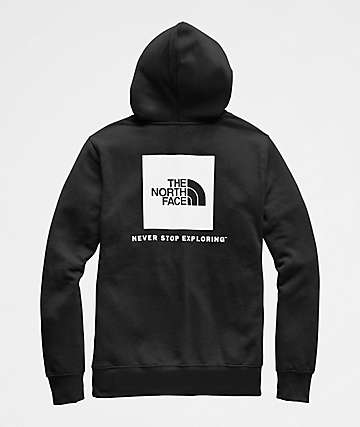 The North Face Red Box Black & White Hoodie