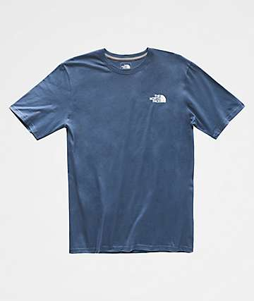 The North Face Red Box Blue & White T-Shirt
