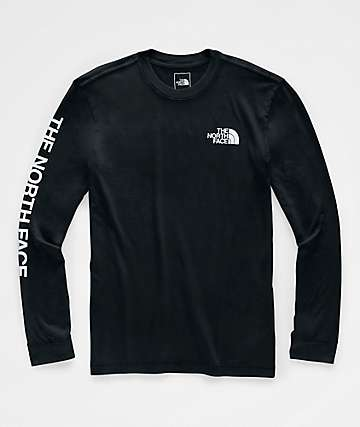 The North Face Sleeve Hit Black Long Sleeve T-Shirt