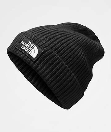 The North Face TNF Logo Box Black Beanie