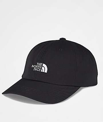The North Face The Norm Black & White Strapback Hat