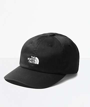 The North Face The Norm Black Hatchet Strapback Hat