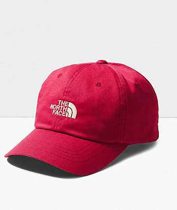 The North Face The Norm Cardinal Red Strapback Hat