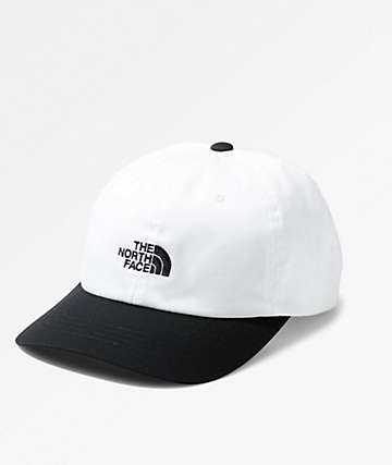 The North Face The Norm White & Black Strapback Hat