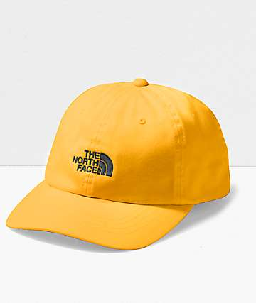 The North Face The Norm Yellow Strapback Hat