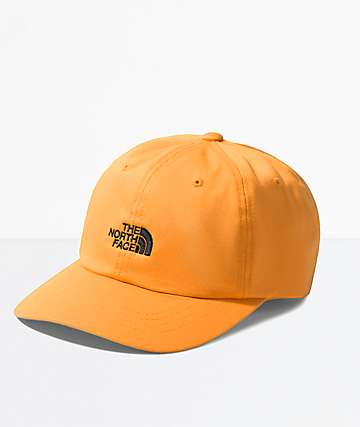 The North Face The Norm Zinnia Orange Strapback Hat
