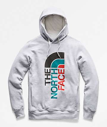 The North Face Trivert Grey Hoodie