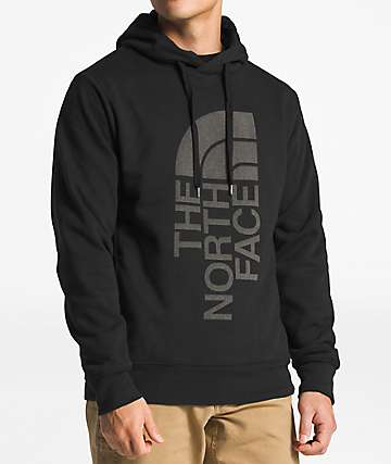 The North Face Trivert Reflective Black Hoodie