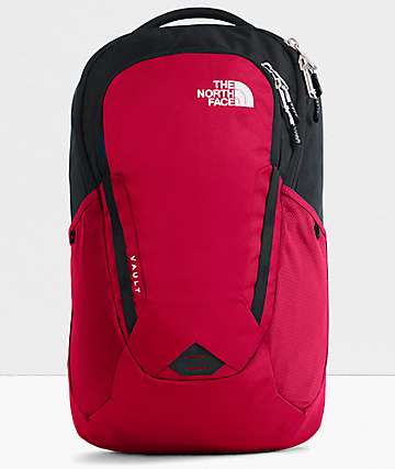 The North Face Vault Red Backpack