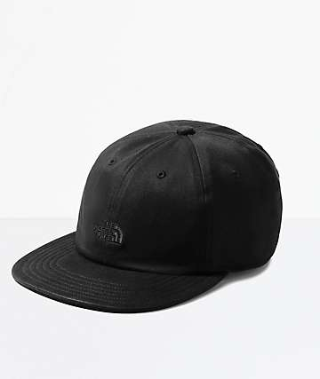 The North Face Water-Resistant Norm Black Strapback Hat