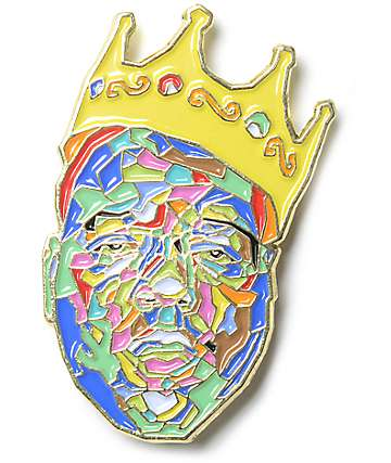 The Notorious B.I.G. King broche