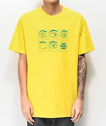 The Quiet Life Blink Yellow T-Shirt