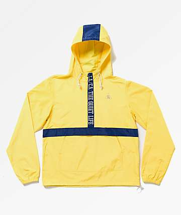 The Quiet Life City Limits Yellow Anorak Jacket