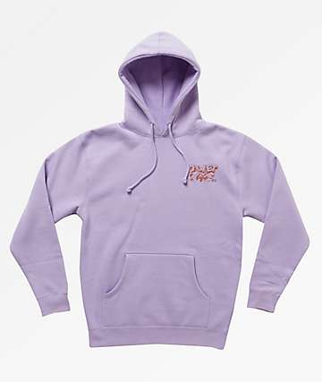 The Quiet Life Grid Lilac Hoodie