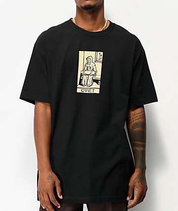 The Quiet Life Monk Black T-Shirt