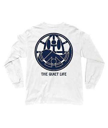 The Quiet Life World Peace White Long Sleeve T-Shirt