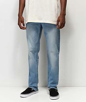 The Rising Sun Mfg. Co. jeans con lavado claro