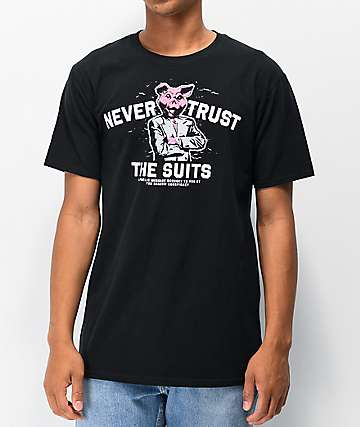 The Shadow Conspiracy The Suits Black T-Shirt