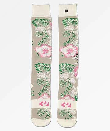 ThirtyTwo Aloha Grey Snowboard Socks