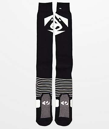 ThirtyTwo Corp Black Snowboard Socks