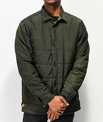 09c6076655dec ThirtyTwo Drifter Reversible Olive Jacket