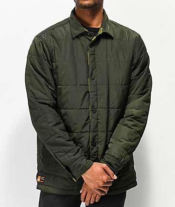 ThirtyTwo Drifter chaqueta reversible oliva