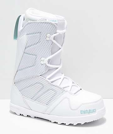 ThirtyTwo Exit 2019 botas de snowboard blancas para mujer