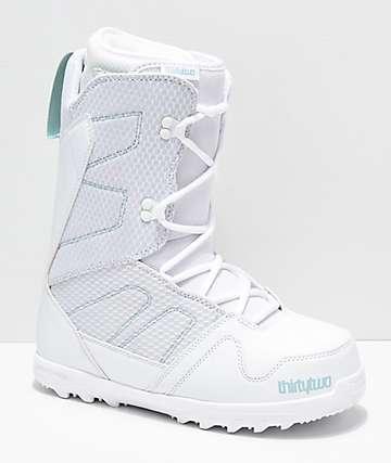 ThirtyTwo Exit 2019 botas de snowboard blancas para mujeres